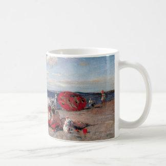 海岸 コーヒーマグカップ