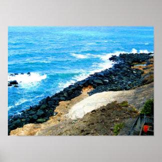 海岸 ポスター