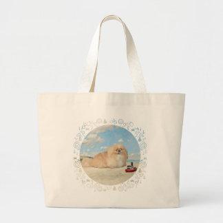 海岸 ラージトートバッグ