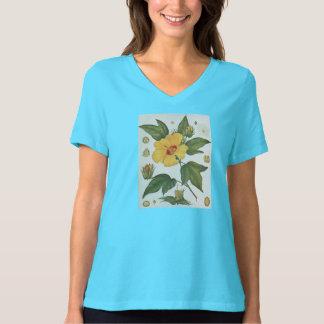 海島綿の花の1914植物のイメージ Tシャツ