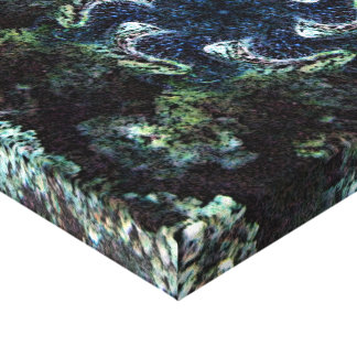 海底の渦巻 キャンバスプリント