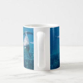 海底イルカ コーヒーマグカップ