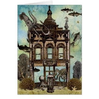 海底タコの家 カード