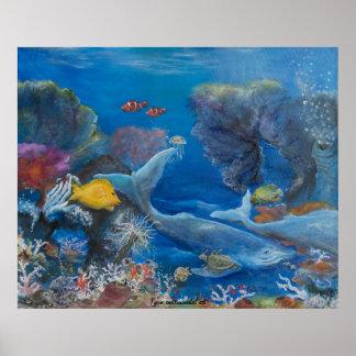 海底芸術 ポスター