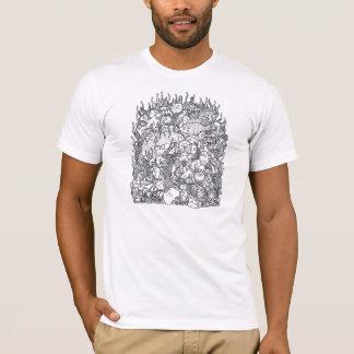 海底落書き Tシャツ