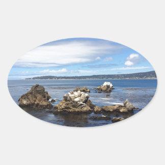 海愛 楕円形シール