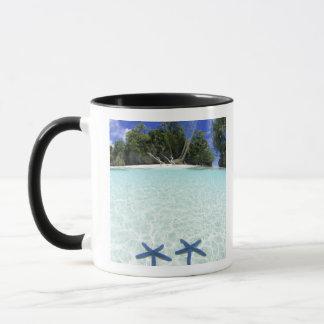 海星、石の島、パラオ諸島 マグカップ
