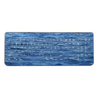 海水のキーボード ワイヤレスキーボード
