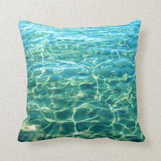 海水ライト反射の枕 クッション