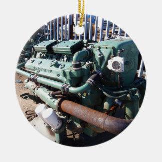 海洋のディーゼル機関 セラミックオーナメント