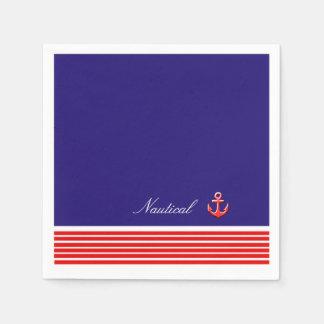 海洋のデザイン スタンダードカクテルナプキン