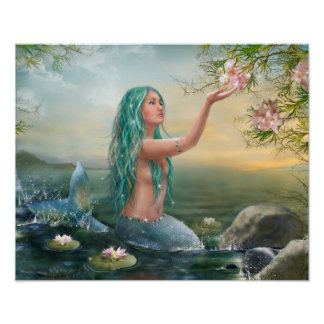 海洋の人魚ポスター ポスター