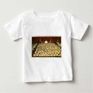 海洋の基盤、サンディエゴ、カリフォルニアの朝の崇拝 ベビーTシャツ