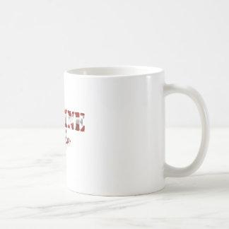 海洋の妻の米国旗 コーヒーマグカップ