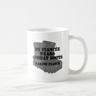 海洋の婚約者-戦闘用ブーツ コーヒーマグカップ