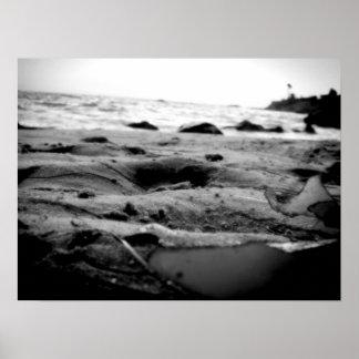 海洋の容認B&W ポスター