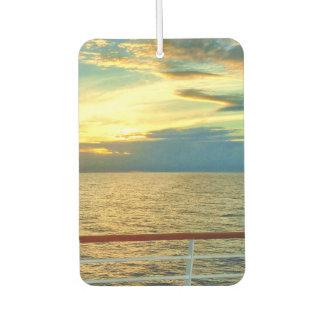 海洋の日の出 カーエアーフレッシュナー