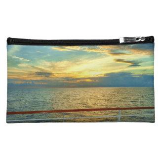 海洋の日の出 コスメティックバッグ