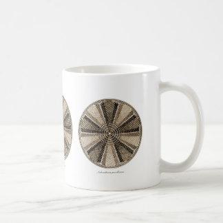 海洋の珪藻植物 コーヒーマグカップ
