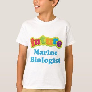海洋の生物学者(未来)の幼児ベビーのTシャツ Tシャツ