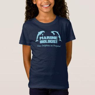 海洋の生物学者 Tシャツ