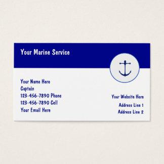 海洋の船遊びの名刺 名刺
