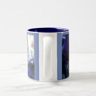海洋の色デザイナーマグ#1 ツートーンマグカップ