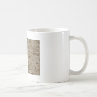 海洋の迷彩柄 コーヒーマグカップ
