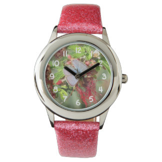海洋の青い蝶 腕時計