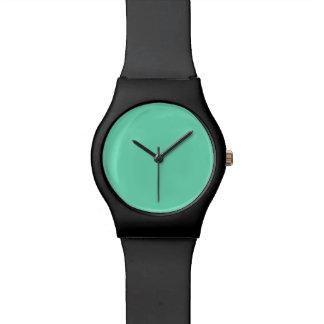 海洋の青緑の水のターコイズ2015色の傾向 腕時計