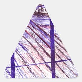 海洋パレード、ブライトン 三角形シール