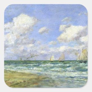 海洋場面1894年 スクエアシール