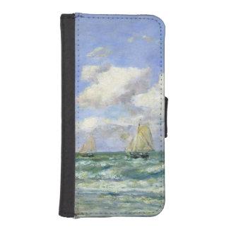 海洋場面1894年 iPhoneSE/5/5sウォレットケース