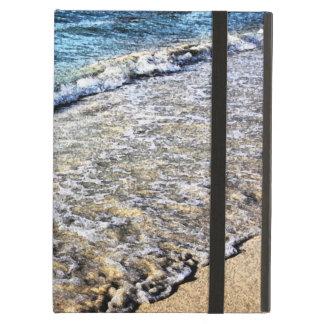 海洋波および砂浜 iPad AIRケース