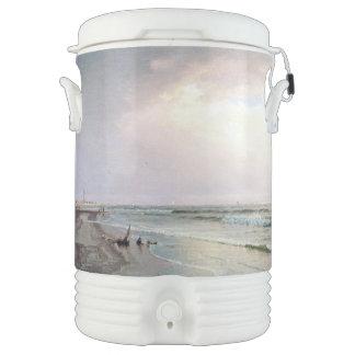 海洋波のビーチの灯台NJイグルーのクーラー ドリンククーラー