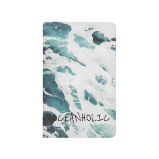 海洋波の海の自然は青海原のノートを引用します ポケットジャーナル