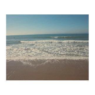 海洋波シリーズ#3: ベントゥーラ-木の… ウッドウォールアート