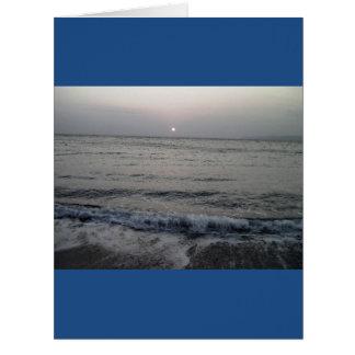 海洋波 ビッググリーティーングカード