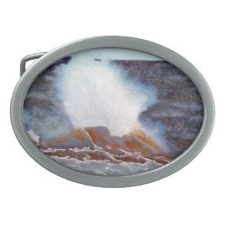海洋波 卵形バックル