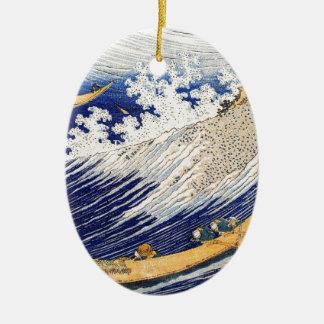 海洋波Hokusai セラミックオーナメント