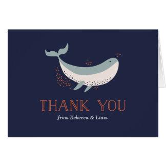 海洋生物のサンキューカード カード