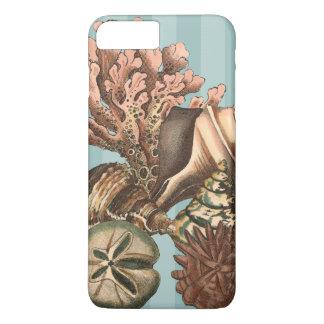 海洋生物のシルエット iPhone 8 PLUS/7 PLUSケース