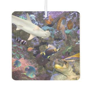 海洋生物の芳香剤 カーエアーフレッシュナー