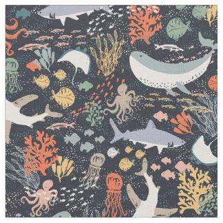 海洋生物 ファブリック