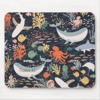 海洋生物 マウスパッド