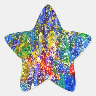海洋生物 星シール