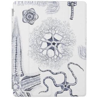 海洋生物/海洋の生物学の奇妙な海の創造物 iPadスマートカバー