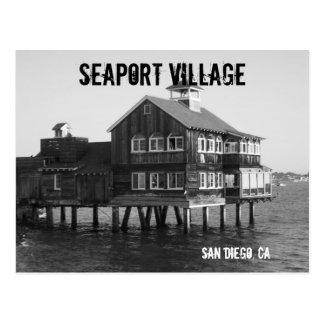 海港の村の郵便はがき ポストカード