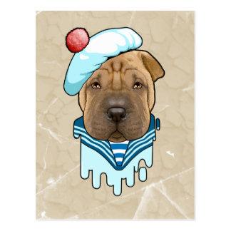 海犬 ポストカード