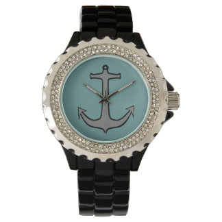 海緑のいかり05 腕時計